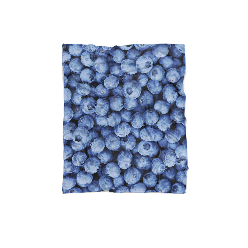 Blueberry Invasion Blanket-Gooten-Regular-| All-Over-Print Everywhere - Designed to Make You Smile