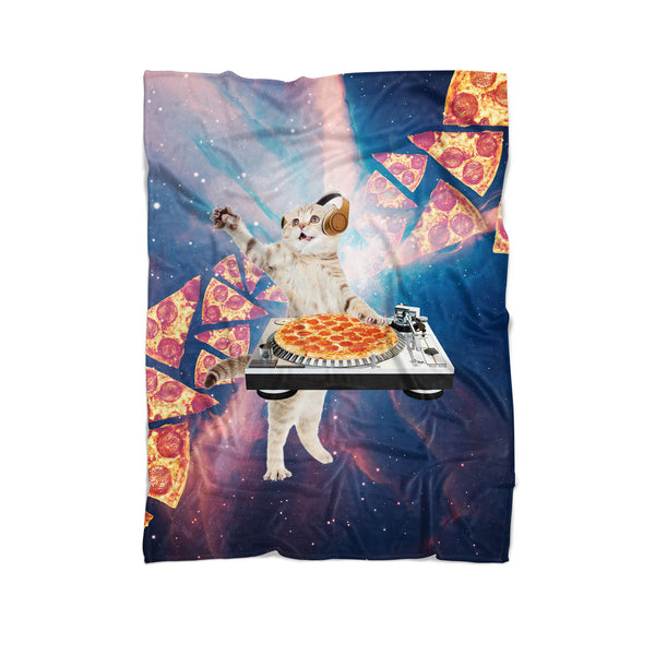 Blankets - DJ Pizza Cat Blanket