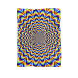 Fractal Pulse Blanket-Gooten-Cuddle-| All-Over-Print Everywhere - Designed to Make You Smile