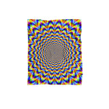 Fractal Pulse Blanket-Gooten-Regular-| All-Over-Print Everywhere - Designed to Make You Smile