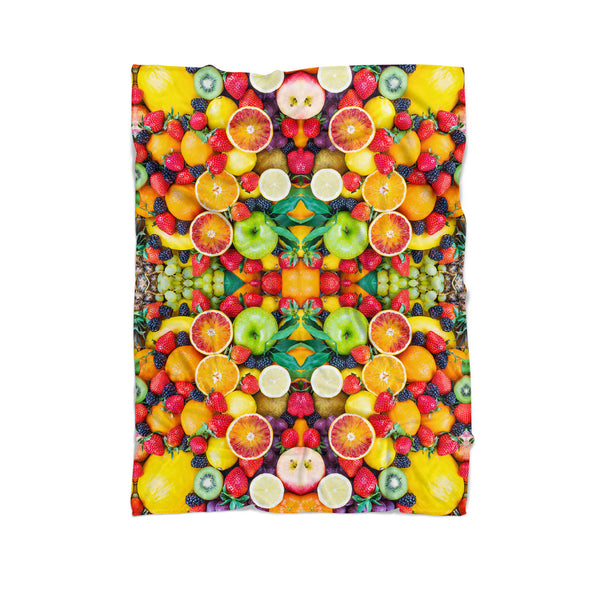 Fruit Explosion Blanket-Gooten-Cuddle-| All-Over-Print Everywhere - Designed to Make You Smile