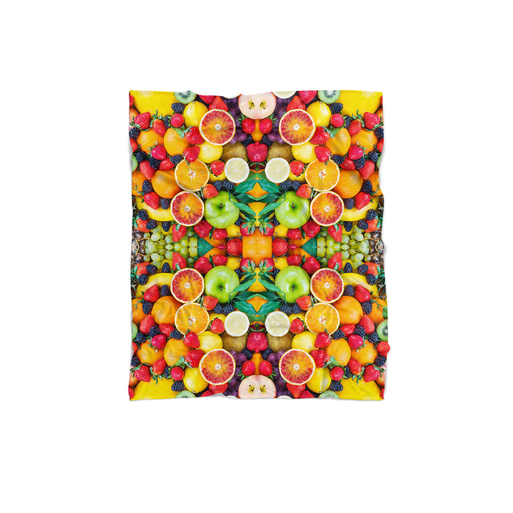 Fruit Explosion Blanket-Gooten-Regular-| All-Over-Print Everywhere - Designed to Make You Smile