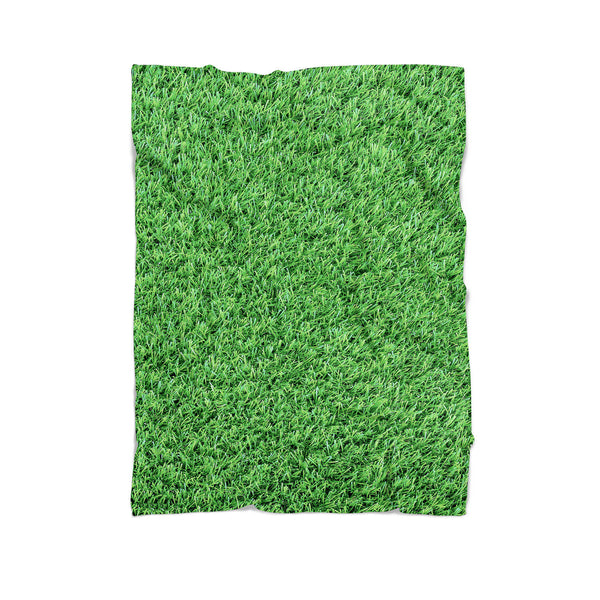 Grass Invasion Blanket-Gooten-Cuddle-| All-Over-Print Everywhere - Designed to Make You Smile