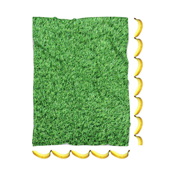 Grass Invasion Blanket-Gooten-| All-Over-Print Everywhere - Designed to Make You Smile