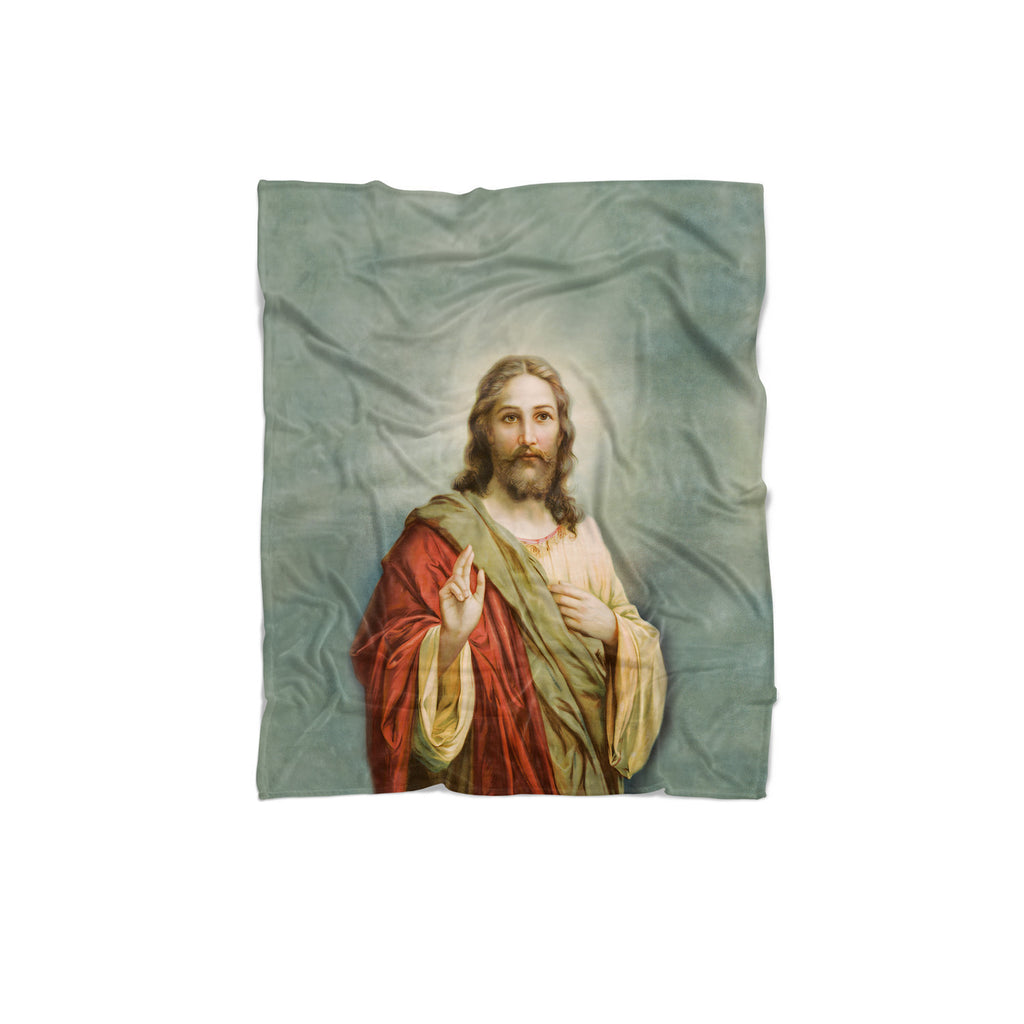 Holy Jesus Blanket-Gooten-Regular-| All-Over-Print Everywhere - Designed to Make You Smile