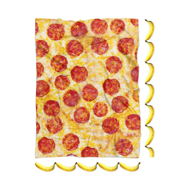 Pizza Invasion Blanket-Gooten-| All-Over-Print Everywhere - Designed to Make You Smile