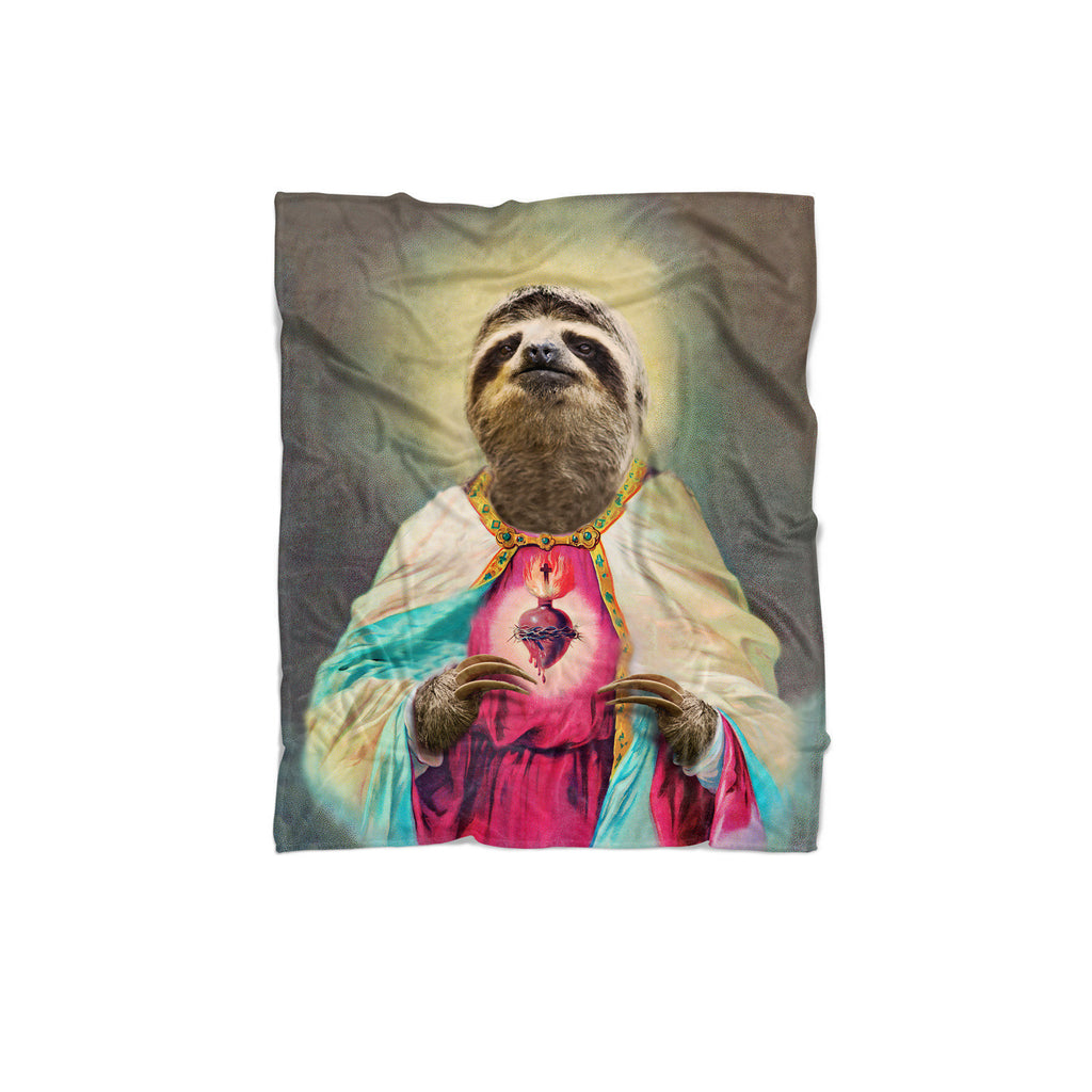 Sloth Jesus Blanket-Gooten-Regular-| All-Over-Print Everywhere - Designed to Make You Smile