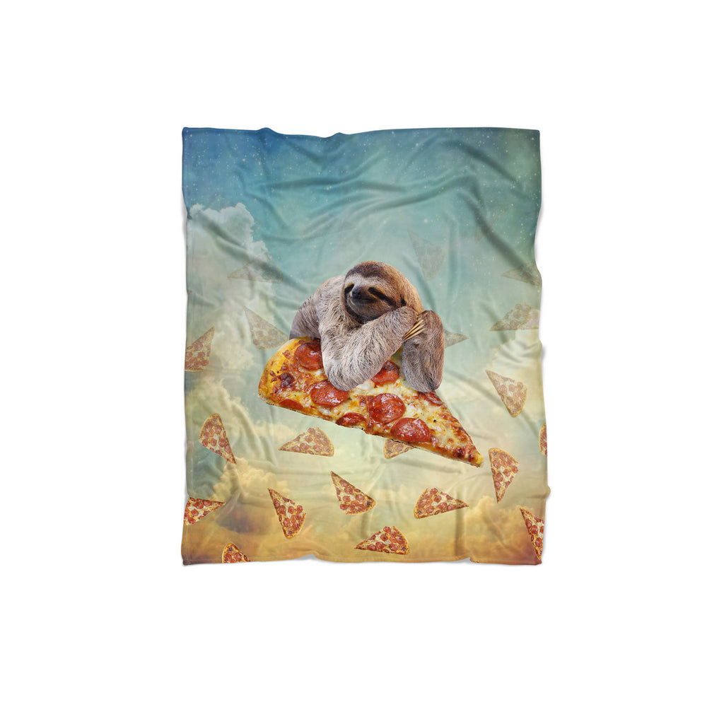 Sloth Pizza Blanket-Gooten-Regular-| All-Over-Print Everywhere - Designed to Make You Smile
