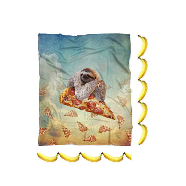 Sloth Pizza Blanket-Gooten-| All-Over-Print Everywhere - Designed to Make You Smile