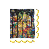 Stained Glass Blanket-Gooten-| All-Over-Print Everywhere - Designed to Make You Smile