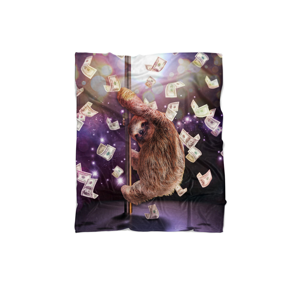 Stripper Sloth Blanket-Gooten-Regular-| All-Over-Print Everywhere - Designed to Make You Smile