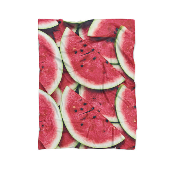 Watermelon Invasion Blanket-Gooten-Cuddle-| All-Over-Print Everywhere - Designed to Make You Smile