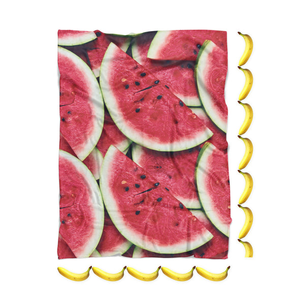Watermelon Invasion Blanket-Gooten-| All-Over-Print Everywhere - Designed to Make You Smile