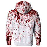 Blood Splatter Hoodie-Subliminator-| All-Over-Print Everywhere - Designed to Make You Smile