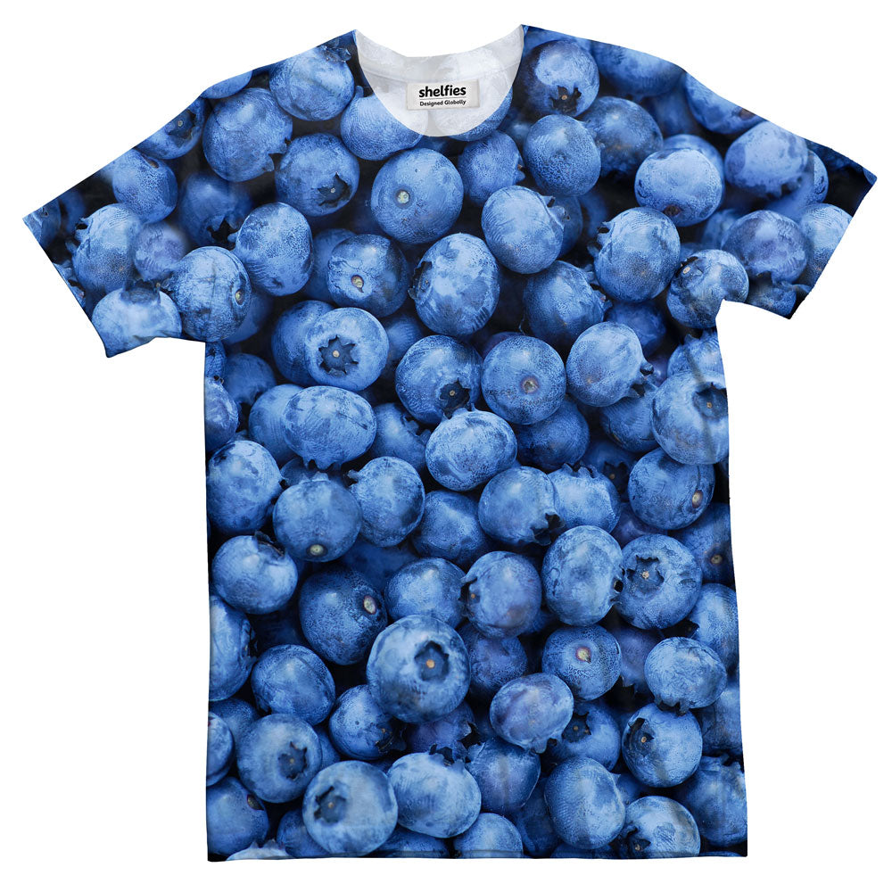 Blueberry Invasion T-Shirt-Subliminator-| All-Over-Print Everywhere - Designed to Make You Smile