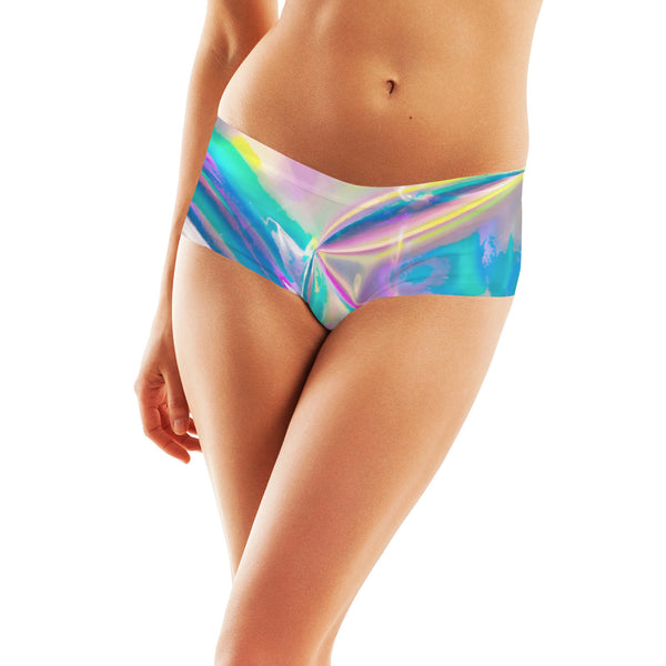 Booty Shorts - Holographic Foil Booty Shorts