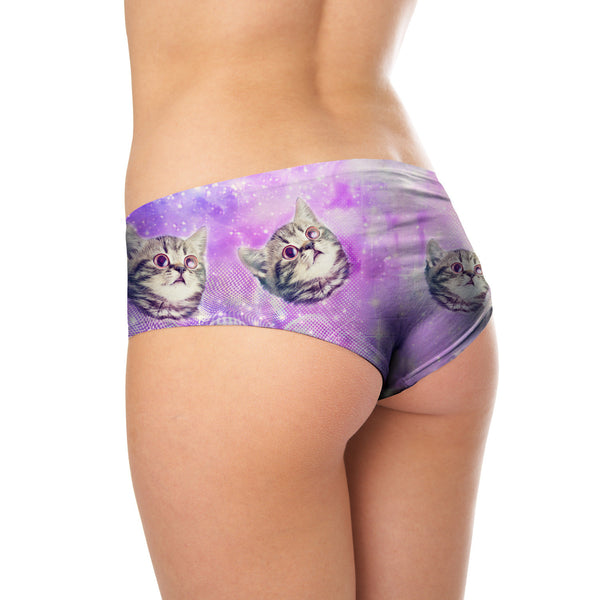 Booty Shorts - Trippin' Kitty Kat Booty Shorts