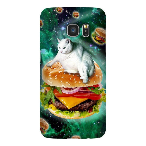 Hamburger Cat Smartphone Case-Gooten-Samsung Galaxy S7-| All-Over-Print Everywhere - Designed to Make You Smile