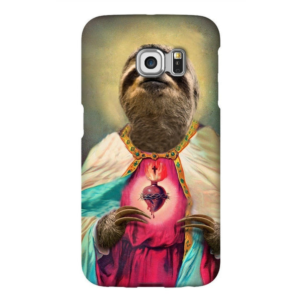 Sloth Jesus Smartphone Case-Gooten-Samsung S6 Edge-| All-Over-Print Everywhere - Designed to Make You Smile