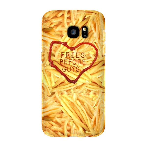 Fries Before Guys Smartphone Case-Gooten-Samsung S7 Edge-| All-Over-Print Everywhere - Designed to Make You Smile