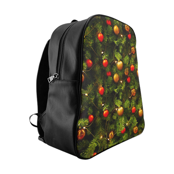 Xmas Tree Backpack-Printify-Large-| All-Over-Print Everywhere - Designed to Make You Smile