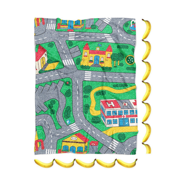 Carpet Track Blanket-Gooten-| All-Over-Print Everywhere - Designed to Make You Smile