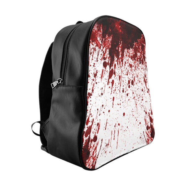 Blood Splatter Backpack-Printify-Large-| All-Over-Print Everywhere - Designed to Make You Smile
