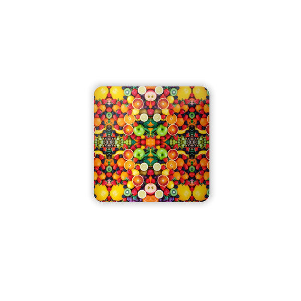 Fruit Explosion Coaster Set-Gooten-| All-Over-Print Everywhere - Designed to Make You Smile