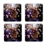 Stripper Sloth Coaster Set-Gooten-Set of 4-| All-Over-Print Everywhere - Designed to Make You Smile