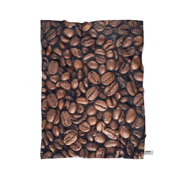Coffee Invasion Blanket-Gooten-Cuddle-| All-Over-Print Everywhere - Designed to Make You Smile
