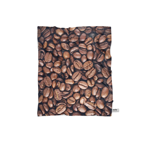 Coffee Invasion Blanket-Gooten-Regular-| All-Over-Print Everywhere - Designed to Make You Smile