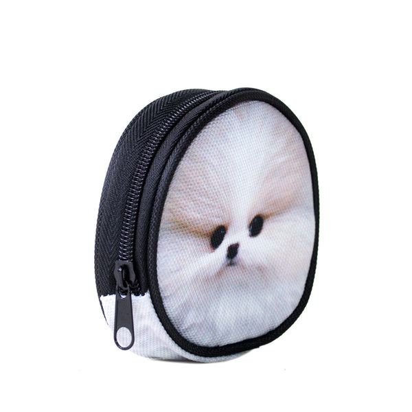 Coin Purses - Fluffy Dog Coin Purse
