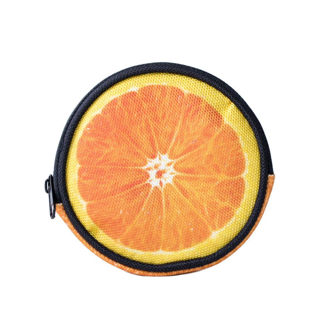Orange Coin Purse-Shelfies-One Size-| All-Over-Print Everywhere - Designed to Make You Smile