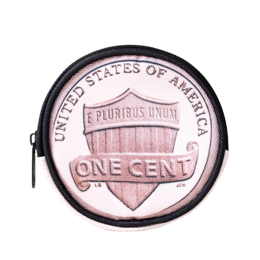 Penny 4 ur Thoughts Coin Purse-Shelfies-One Size-| All-Over-Print Everywhere - Designed to Make You Smile