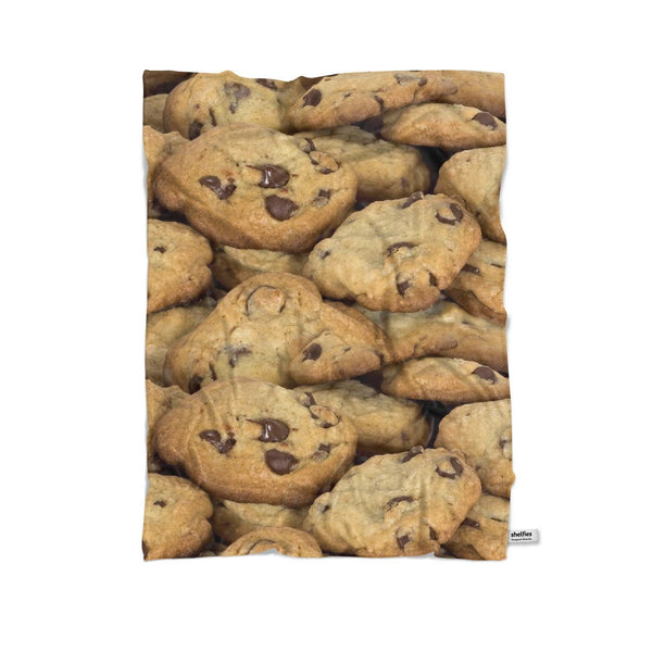 Cookies Invasion Blanket-Gooten-Cuddle-| All-Over-Print Everywhere - Designed to Make You Smile