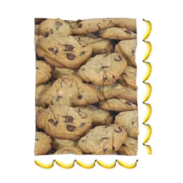 Cookies Invasion Blanket-Gooten-| All-Over-Print Everywhere - Designed to Make You Smile