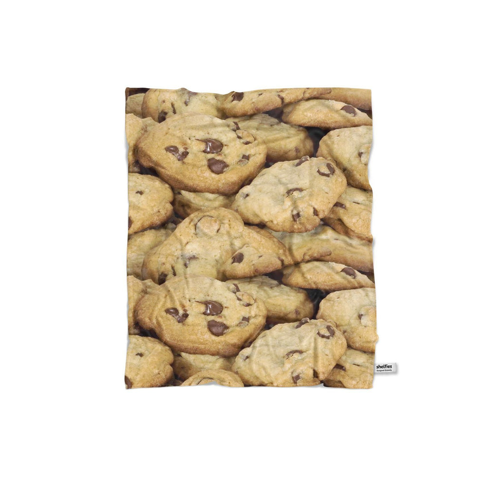 Cookies Invasion Blanket-Gooten-Regular-| All-Over-Print Everywhere - Designed to Make You Smile