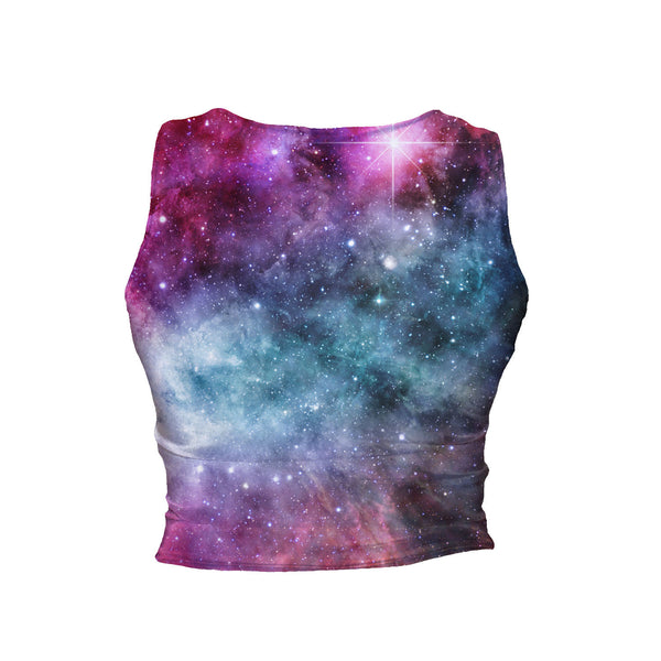 Crop Tanks - Galaxy Love Crop Tank