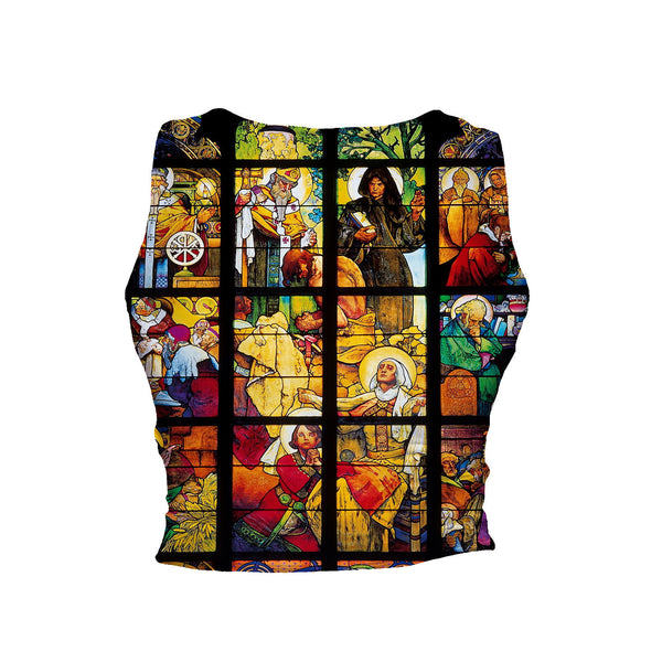 Crop Tanks - Stained Glass Crop Tank