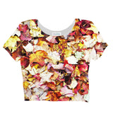 Fall Leaves Crop Top - Shelfies | All-Over-Print Everywhere - Designed to Make You Smile