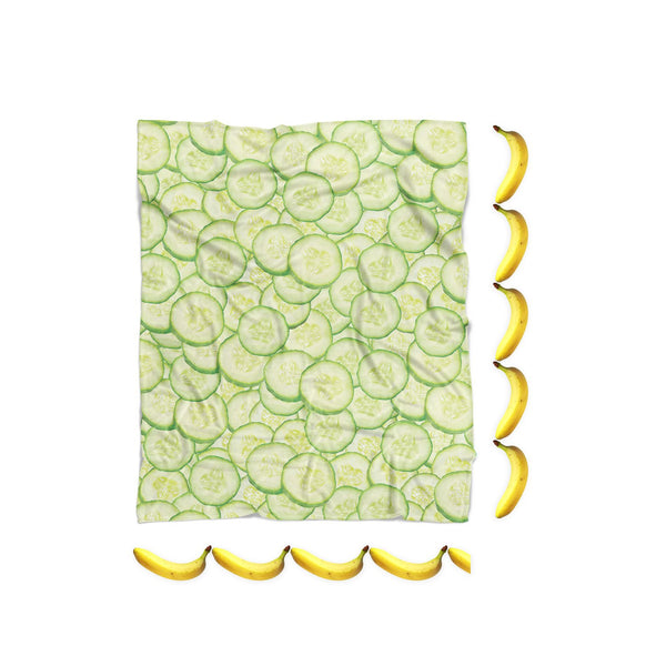Cucumber Invasion Blanket-Gooten-| All-Over-Print Everywhere - Designed to Make You Smile