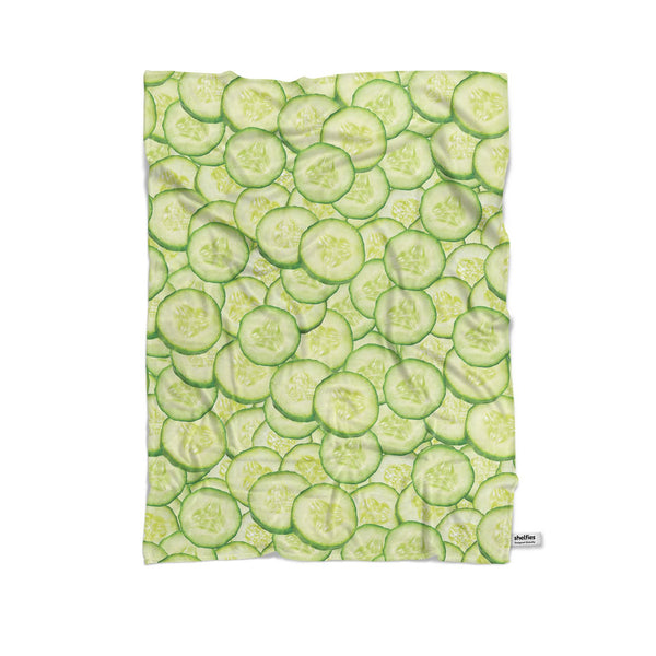 Cucumber Invasion Blanket-Gooten-Cuddle-| All-Over-Print Everywhere - Designed to Make You Smile