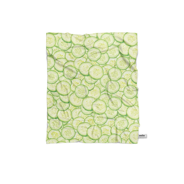 Cucumber Invasion Blanket-Gooten-Regular-| All-Over-Print Everywhere - Designed to Make You Smile