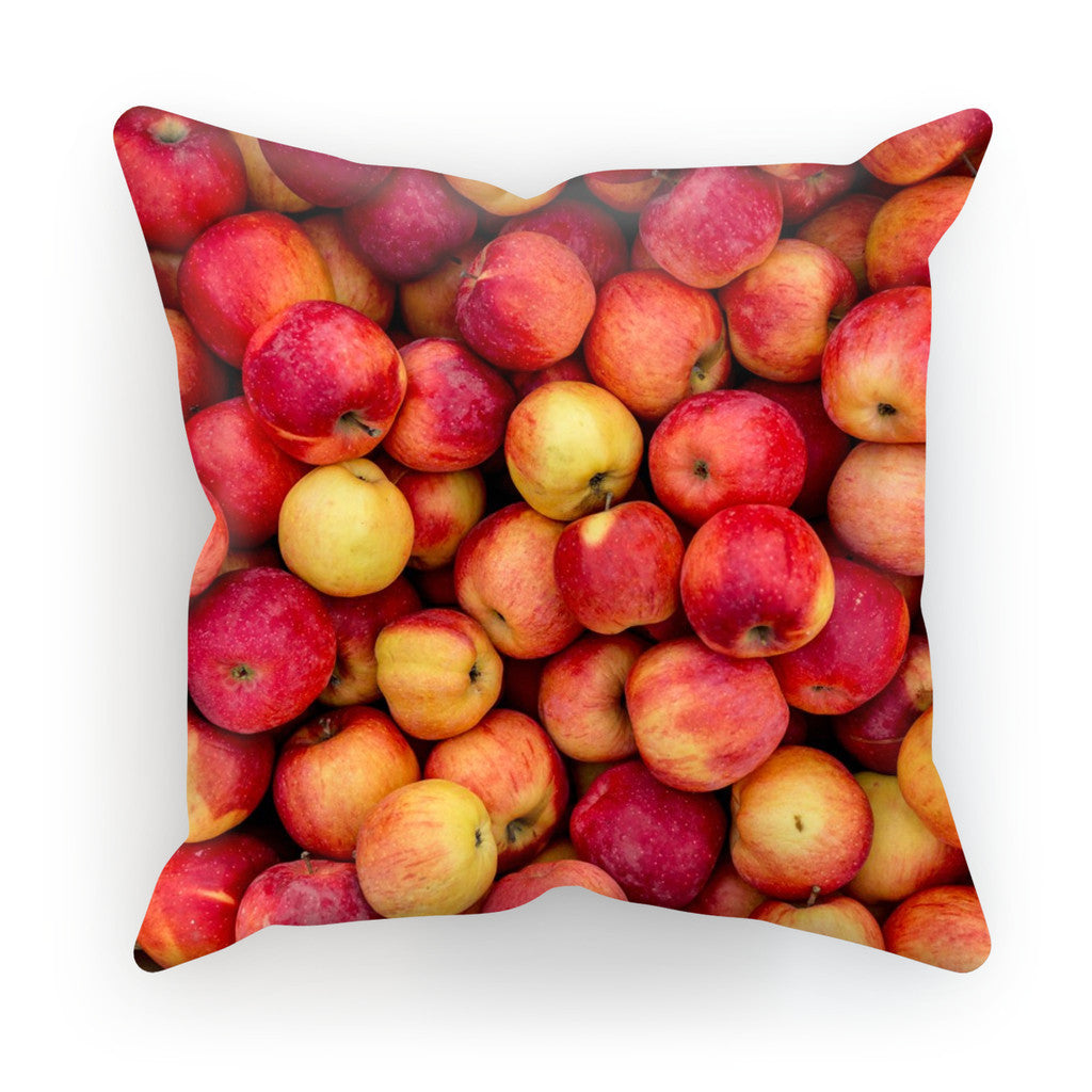 "Apple Invasion Cushion-kite.ly-18""x18""-