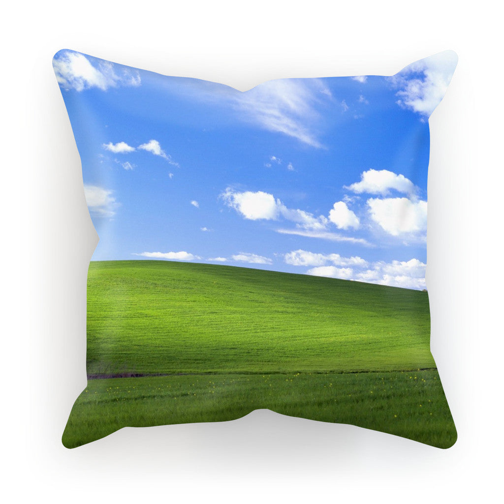 "Bliss Screensaver Cushion-kite.ly-18""x18""-