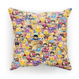 "Emoji Invasion Cushion-kite.ly-18""x18""-