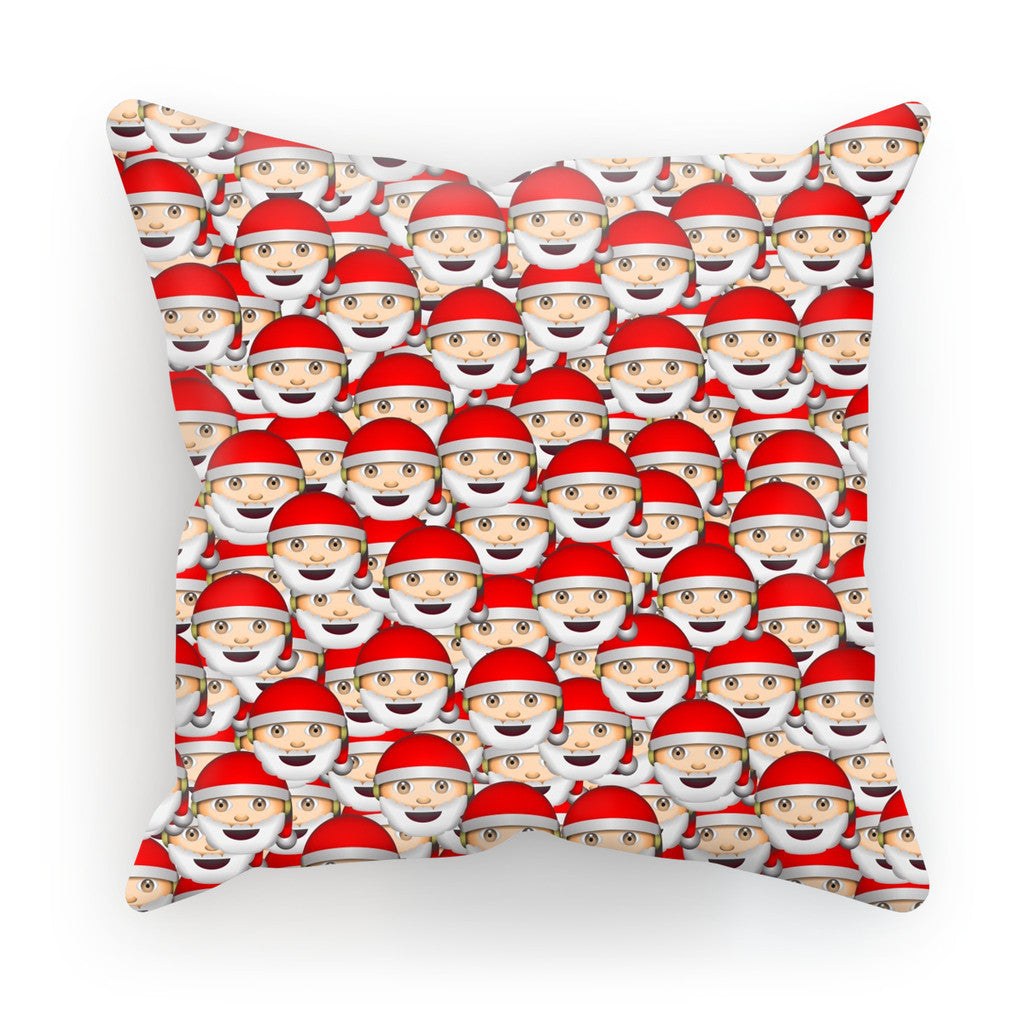 Cushions - Emoji Santa Invasion Cushion