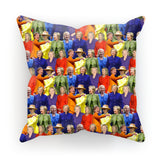 "Hillary Clinton Rainbow Suits Cushion-kite.ly-18""x18""-