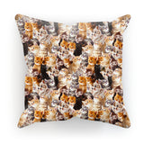 "Kitty Invasion Cushion-kite.ly-18""x18""-
