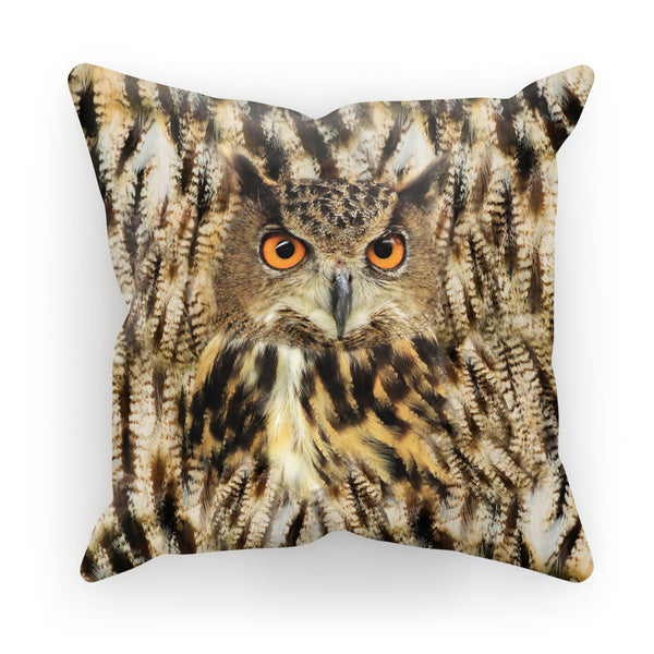 Cushions - Owl Face Cushion